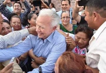 Manda mensaje el ex gobernador Andrés Granier a la población tabasqueña
