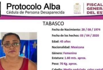 Protocolo Alba: Se busca a la C. Claudia Hernandez Hernandez, tiene 45 años