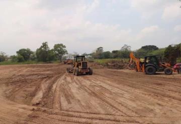 Al 70 por ciento los trabajos en el terreno para el nuevo hospital de ISSET en Comalcalco