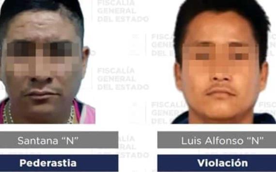 Detienen a 3 hombres por diversos delitos en Tabasco