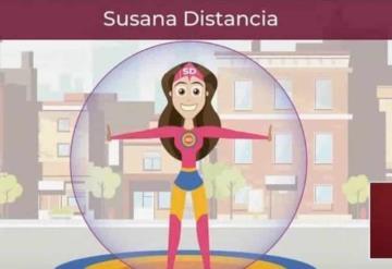 Alcaldesa hace live action de Susana distancia