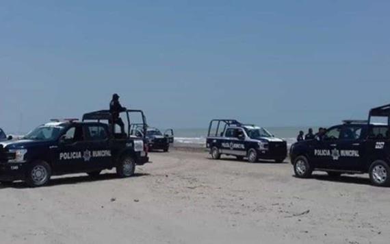 Impiden el acceso a las playas de Tabasco
