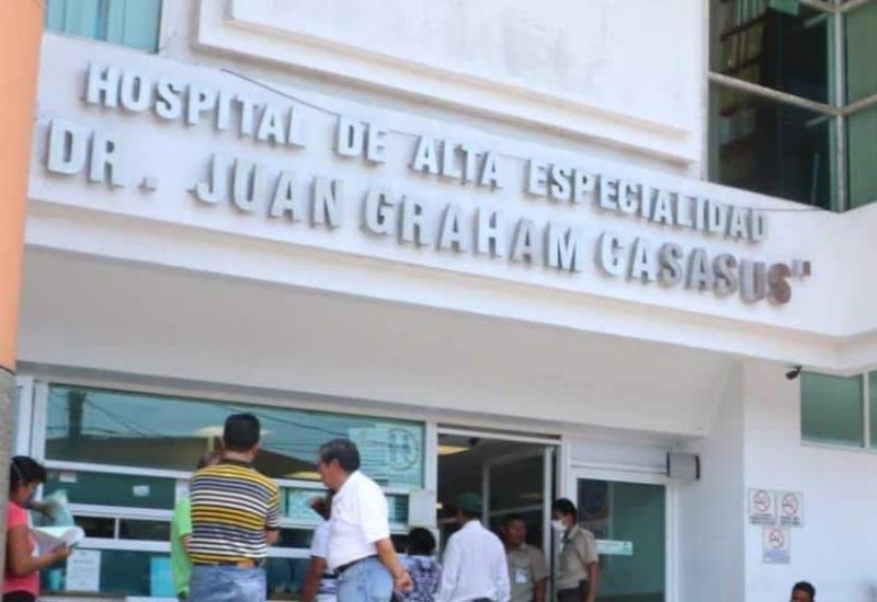 Personal del hospital Juan Graham se ausentan por temor a Covid-19