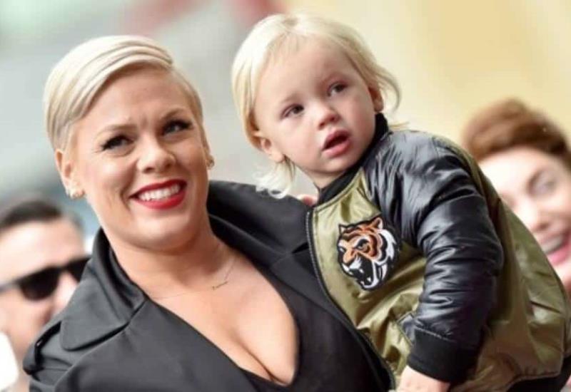 Pink se une a donaciones contra coronavirus, tras haberlo padecido junto a su hijo