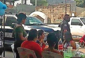 Realizaban fiesta en Cunduacán; policías la desalojaron por incumplir medidas sanitarias