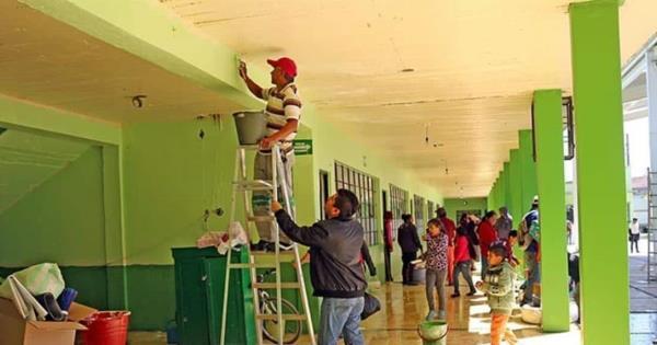 """Suspenden empleo temporal de """"Pinta tu escuela"""" por propagación de COVID-19"""