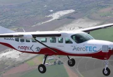 Primer avión de pasajeros completamente eléctrico tiene su primer vuelo exitoso