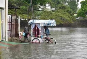 Alerta ayuntamiento de Paraíso, invita a la población a tomar medidas de precaución por lluvias