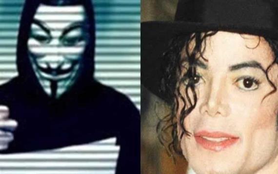 Anonymous filtra de audio de Michael Jackson donde asegura que teme por su vida