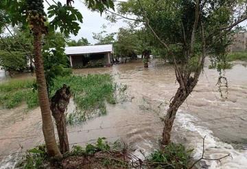 Tormenta Cristóbal afecta a comunidad de Teapa