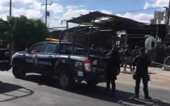 Suman 4 muertos ataque con granada en vulcanizadora de Celaya