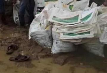 Lluvias afectan caminos y bordos en Teapa