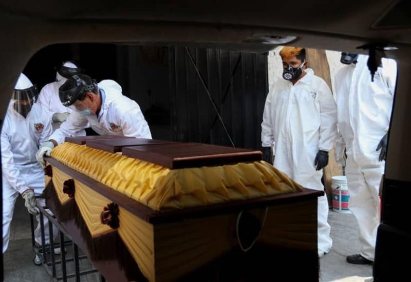 Aumenta el 40% de muertes por COVID-19 en una semana en México