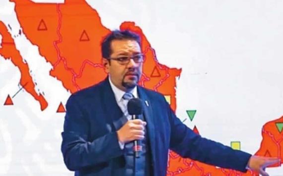 Todo México está en color rojo; indica semáforo Covid-1