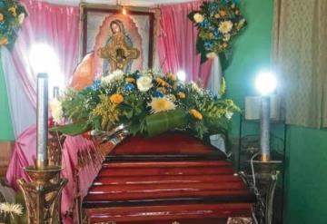 Dan el adiós a don Sergio, victima de explosión en Macuspana