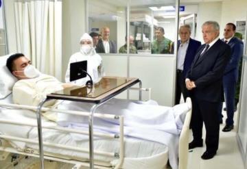 ISSSTE aclara polémica foto de López Obrador en hospital Covid-19 sin cubrebocas