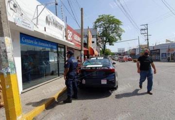Saquean Centro de Atención a Clientes Movistar en Villahermosa