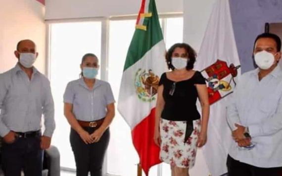 Se reúne Marco Rosendo Medina con Concejo Municipal de Jalapa