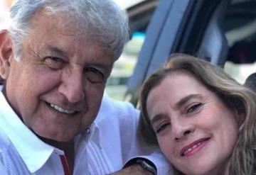 Métanse conmigo, no con mi familia; AMLO defiende a Beatriz Gutiérrez Müller