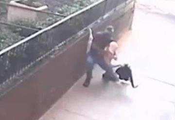Captan violento asalto a abuelita