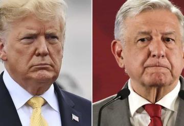 Trump tuitea fotos en el muro, ¿Indirectas para López Obrador?