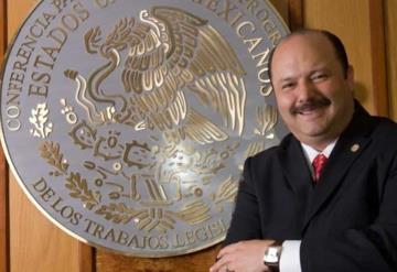 Detienen a César Duarte, exgobernador de Chihuahua, en EU