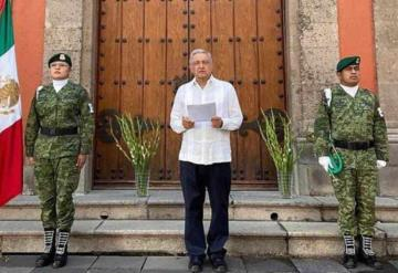 VIDEO: López Obrador envía mensaje a familiares y amigos que han sufrido una perdida por covid-19