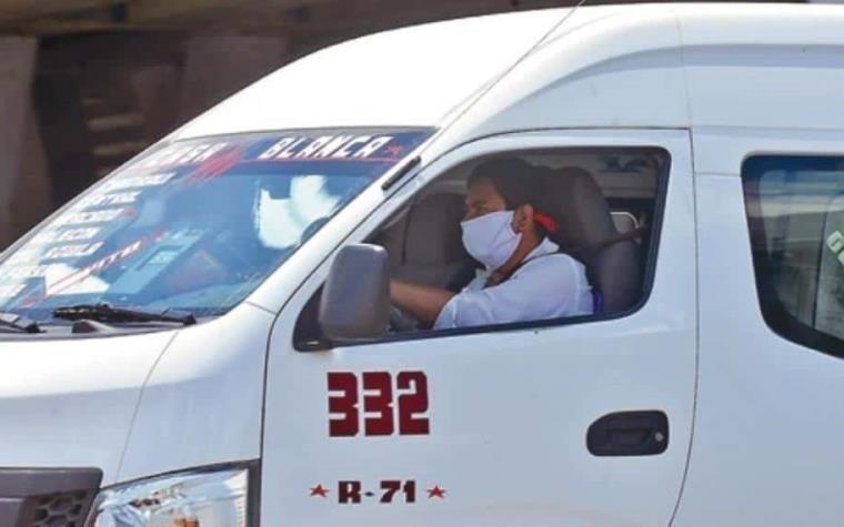Regalarán cubrebocas a usuarios del transporte público en Tabasco