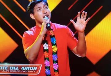 Alex Rey pone en alto bordados tabasqueños en La Voz
