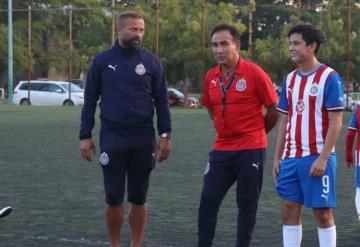 "Director técnico de Chivas La Selva orgulloso de Sebastián ""Chevy"" Martínez"