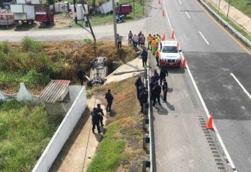 Se registra fuerte operativo en la Villahermosa-Cárdenas