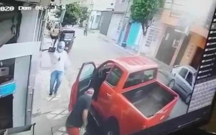 VIDEO: Cámaras de seguridad captan momento de la ejecución de Camilo