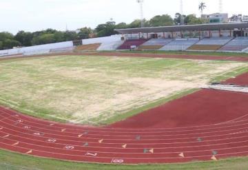 Avance del 80% registra la remodelación integral del Estadio Olímpico de Villahermosa