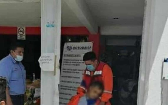 Fallece chilango en el interior de tienda de tornillos y bandas