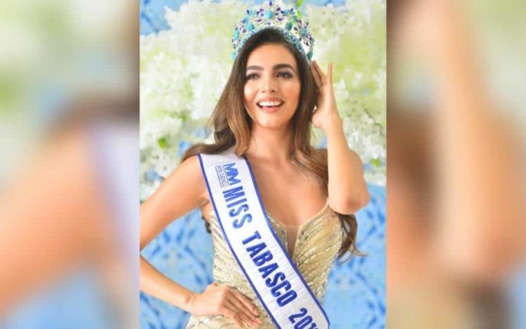 Tabasco está con Gildy rumbo a la corona de Miss México