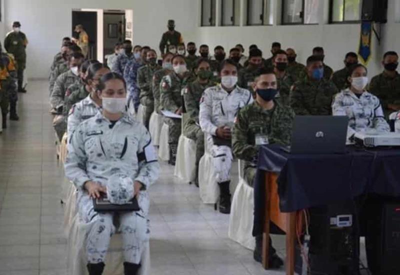 """Personal Militar, recibe taller de """"Sensibilización de Género"""" impartido por catedráticos de la UNAM"""
