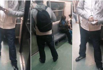 Video:  Usuaria graba a acosador en vagón exclusivo para mujeres del Metro