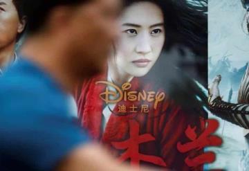 China prohíbe difusión publicitaria a Mulán