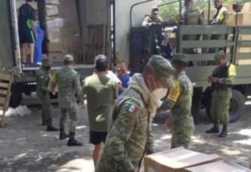 330 toneladas de medicamentos e insumos llegaron al Hospital INSABI Covid-19 de Tenosique