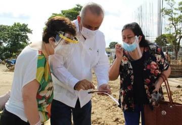 Supervisan avances de Banco del Bienestar en Macuspana