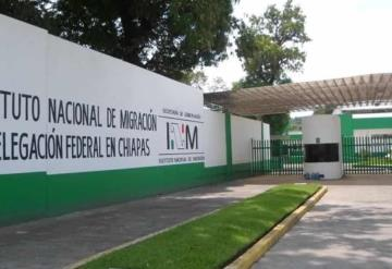Piden medidas al INM por sobrepoblación en estación de Palenque