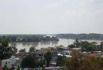 Río Usumacinta incrementa su nivel