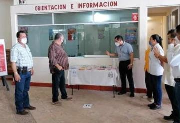 Inaugura Gobierno de Jonuta Módulo de Atención COVID-19 en Central Camionera