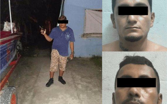 Detienen a tres presuntos ladrones en Tenosique
