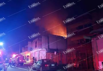Se incendia casa en Gaviotas Sur