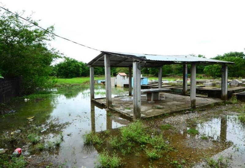 Así se encuentra la zona Yokotan de Tamulté de las Sabanas