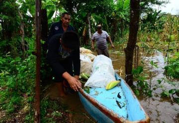Este es el total de personas y localidades afectadas por las lluvias en Tabasco