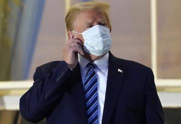Donald Trump asegura ser ´inmune´ al COVID-19