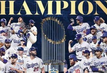 Tras 32 años logran su séptimo título, ¡Dodgers son campeones de la Serie Mundial!