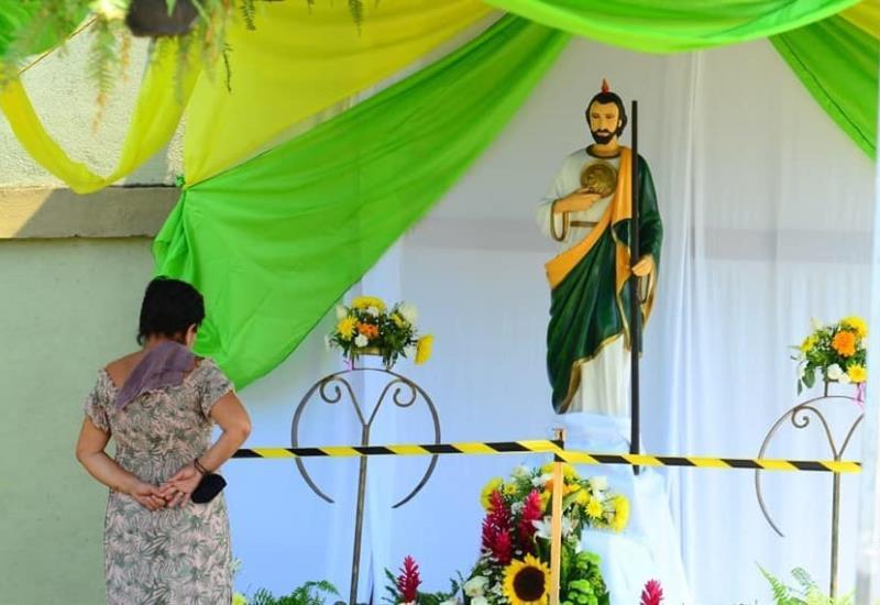 Así celebran a San Judas Tadeo, patrono de las causas  difíciles